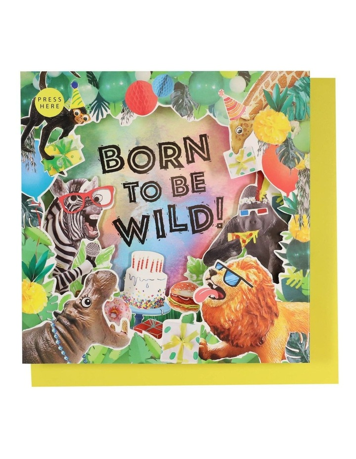 Born To Be Wild Musical Card image 1