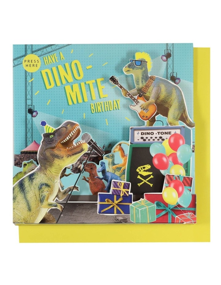 Have A Dinomite Birthday Musical Card image 1