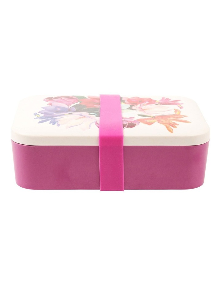 Floral Bamboo Lunch Box image 1