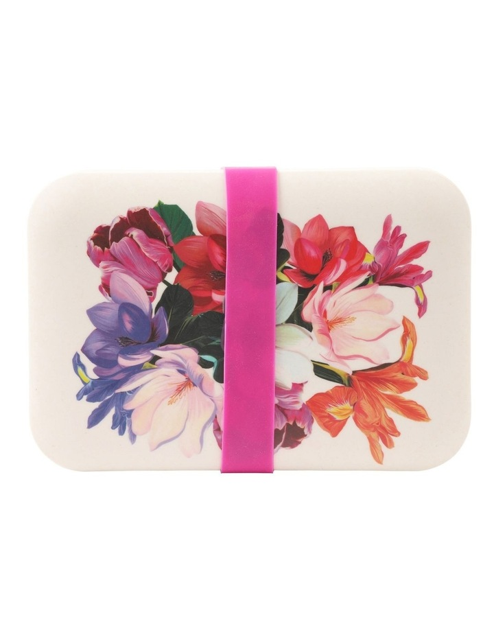 Floral Bamboo Lunch Box image 2