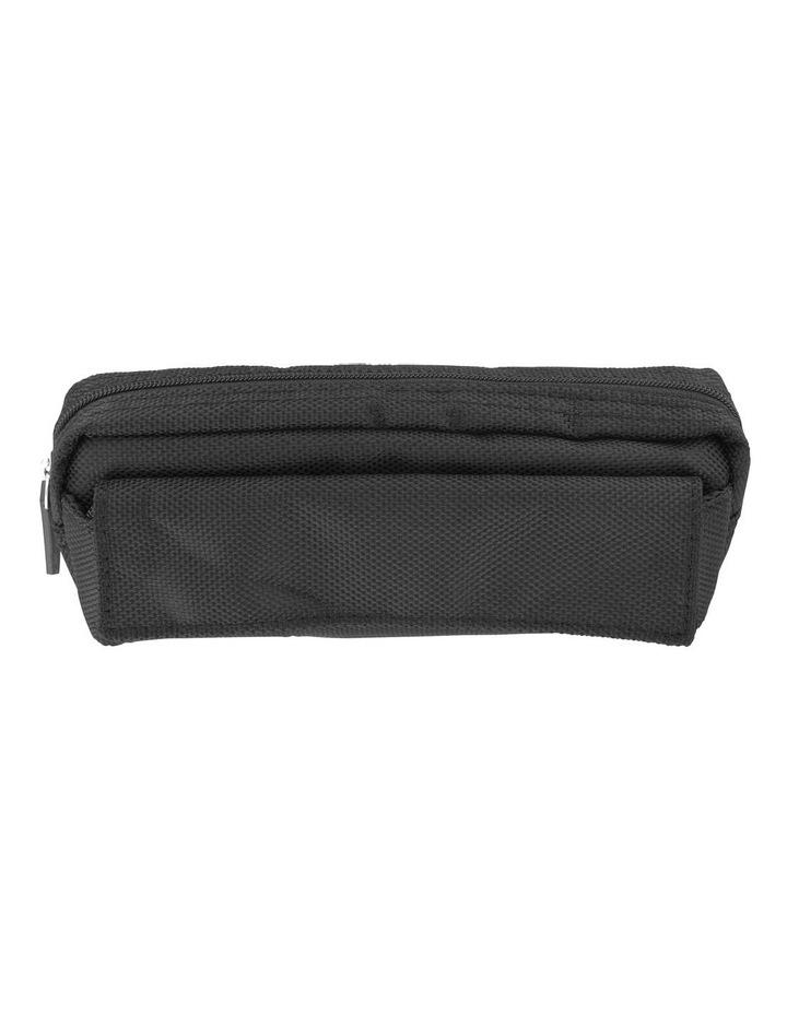 Black Nylon Multi Pencil Case image 1