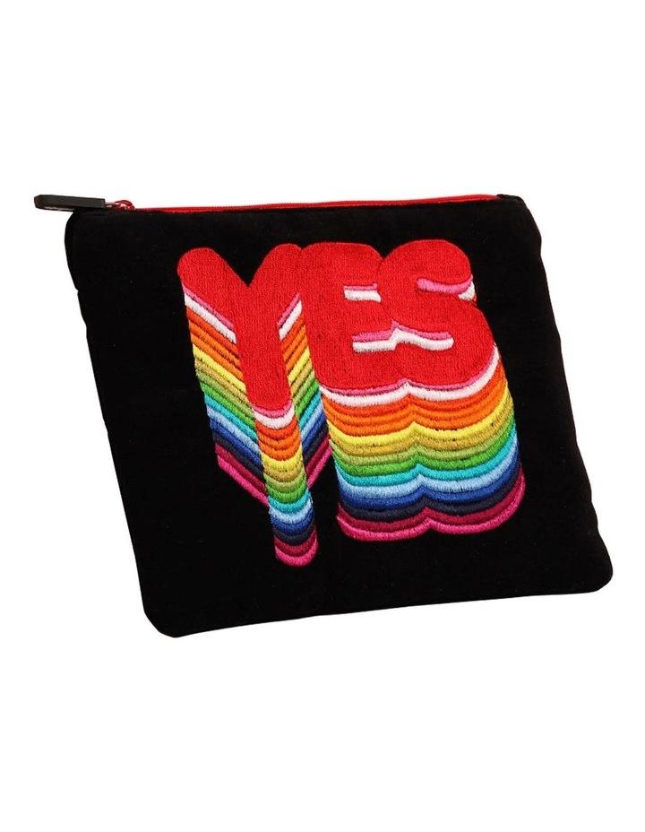 Velvet Rainbow Yes Pencil Case image 1