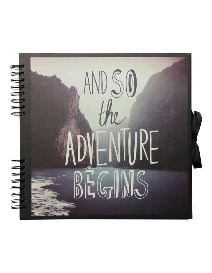 Adventure Large Slogan Scrapbook image 1