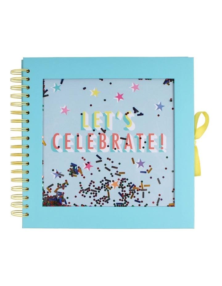 Lets Celebrate Medium Confetti Scrapbook image 1