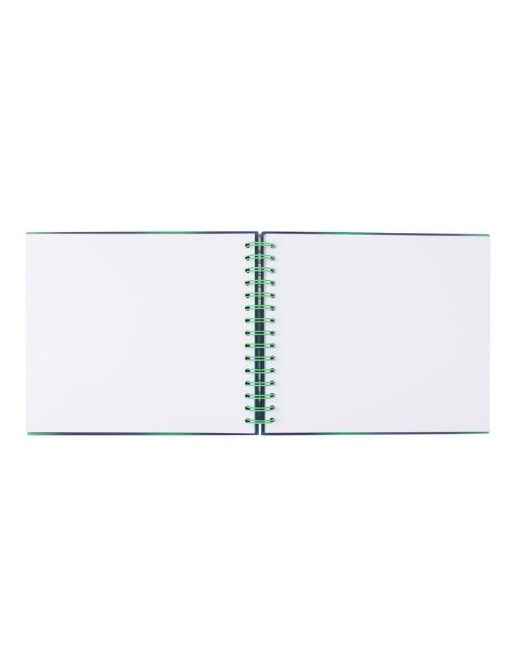 Small Green And Blue Ombre Pvc Scrapbook image 2