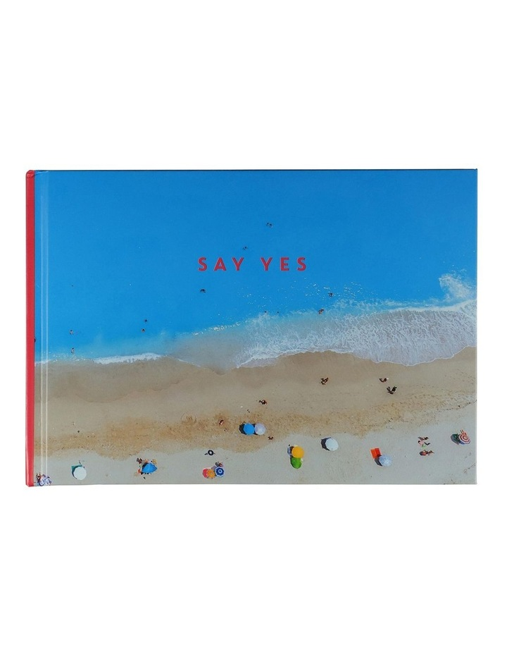 'Say Yes' Small Self-Adhesive Photo Album image 1