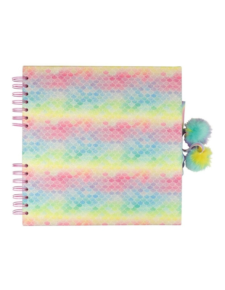 Ombre Rainbow Scale Medium Scrapbook image 1