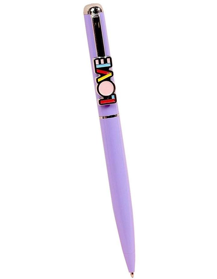Paperchase Love Clip Twist Ballpoint Pen image 1