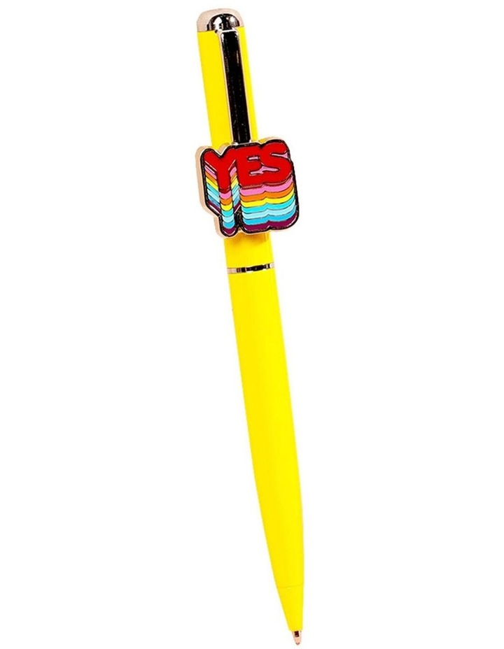 Paperchase Yes Clip Twist Ballpoint Pen image 1