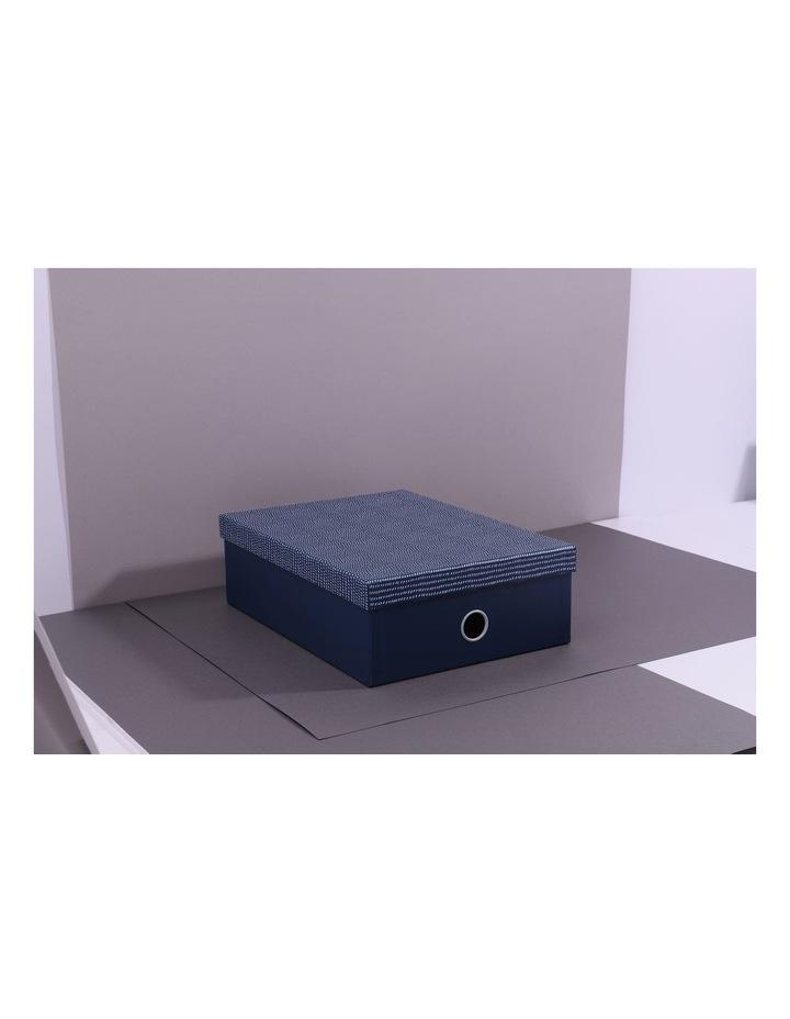 Pretty Dashing A4 Teal Storage Box image 1