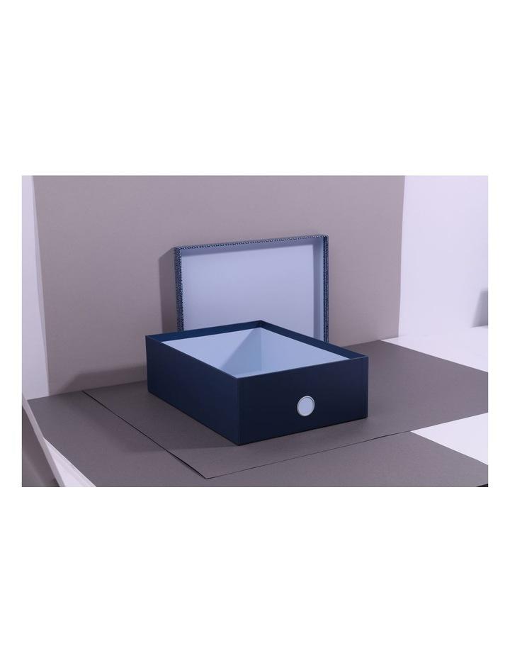 Pretty Dashing A4 Teal Storage Box image 2