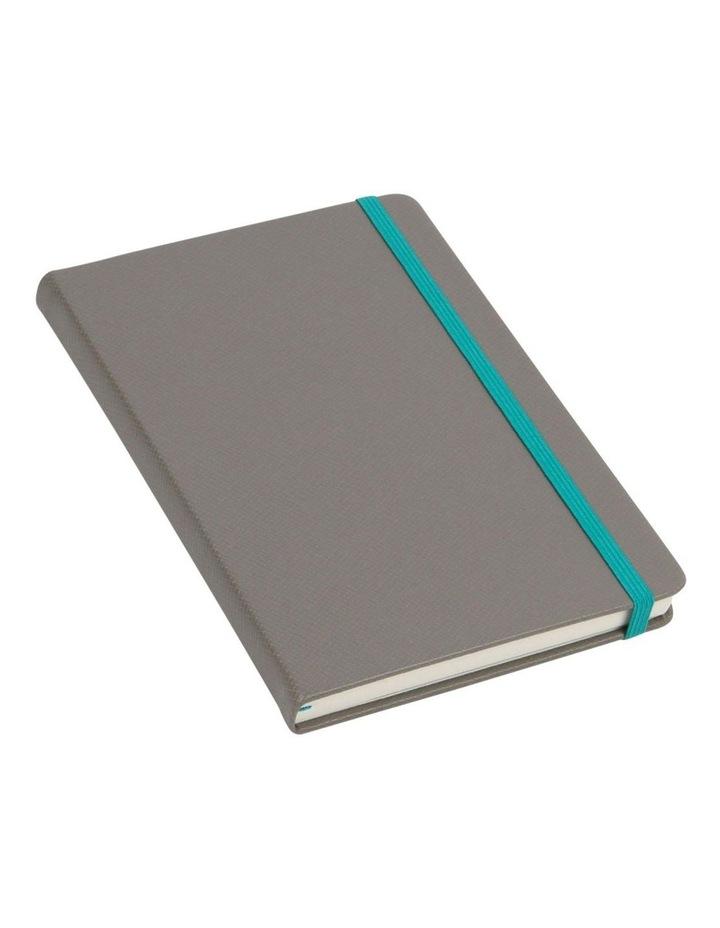 Agenzio Medium Granite Lined Hardback Notebook image 1
