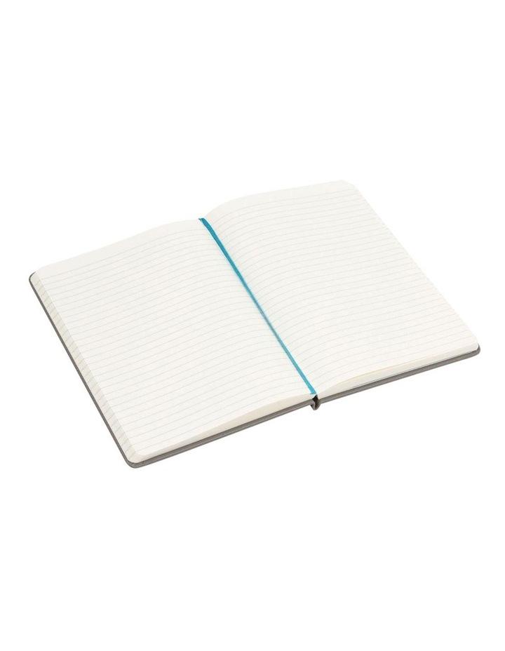 Agenzio Medium Granite Lined Hardback Notebook image 2