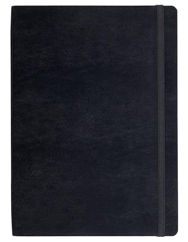 Agenzio Medium Black Plain Notebook image 1