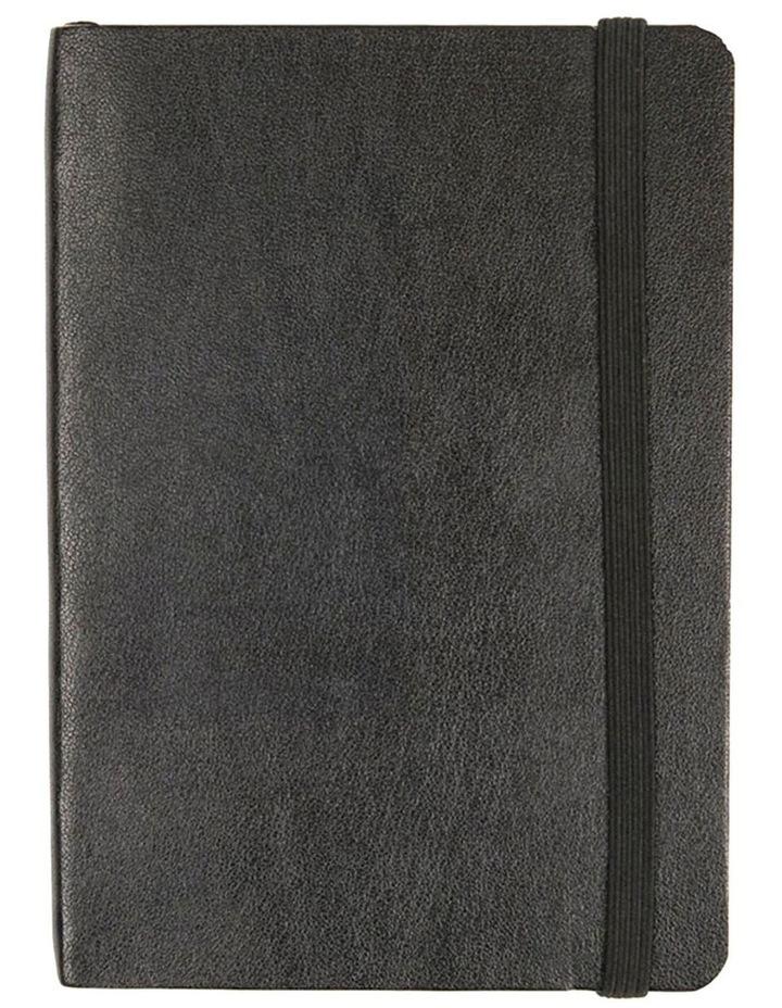 Agenzio Soft Small Black Plain Notebook image 1