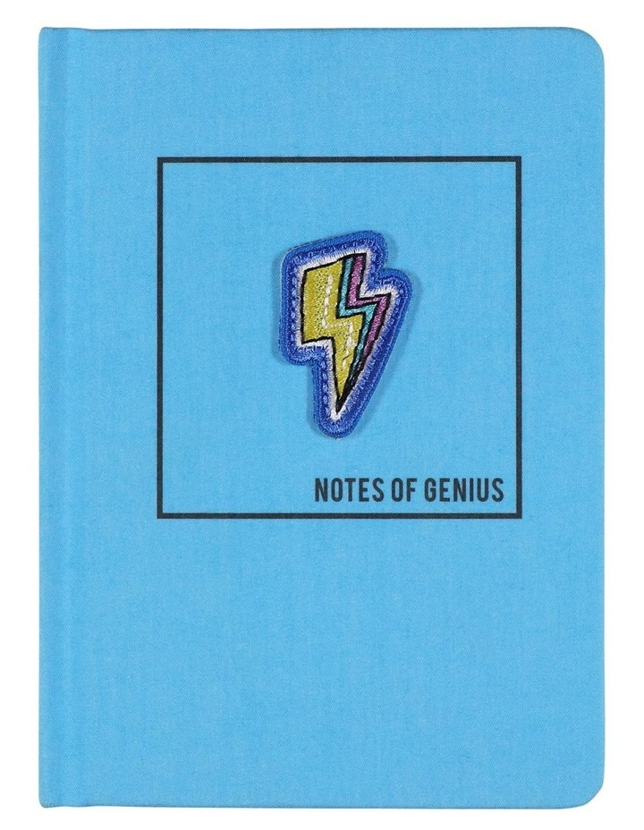 A6 Lightening Genius Ideas Lined Notebook image 1