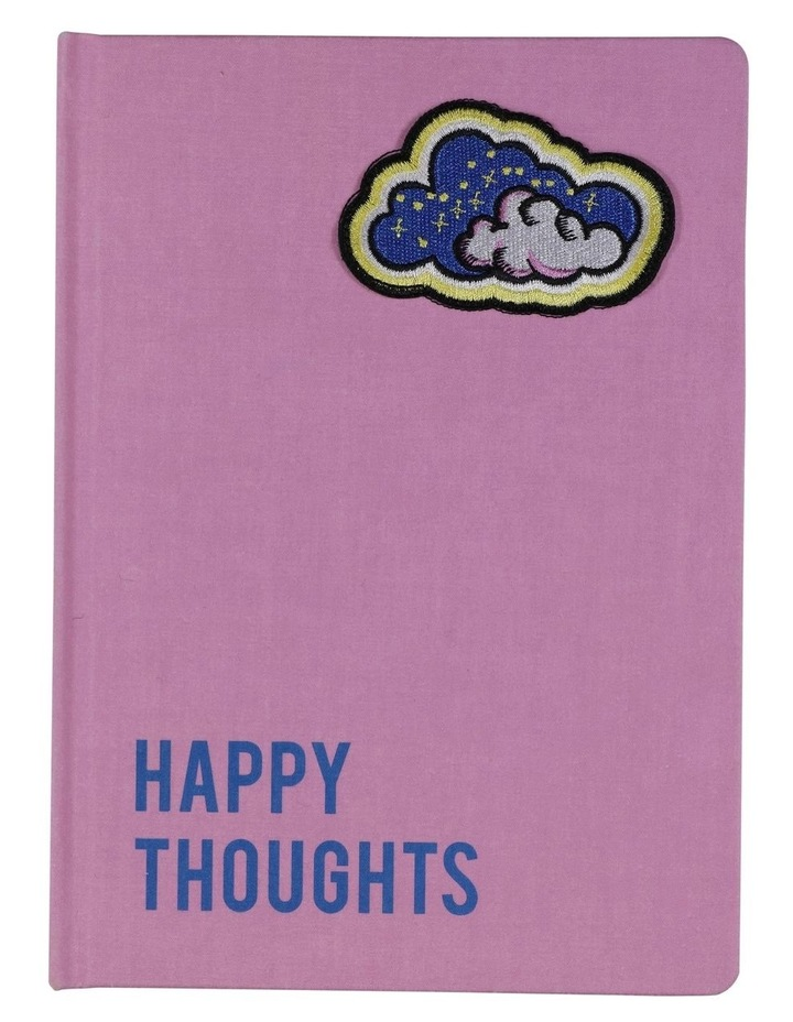A5 Happy Thoughts Cloud Lined Notebook image 1