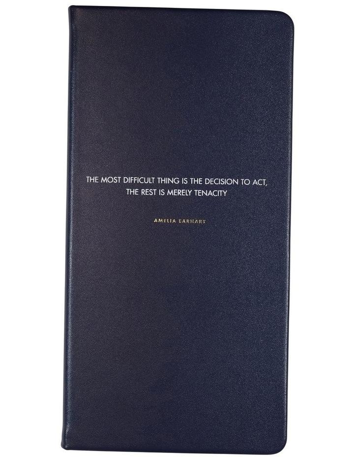 Slim Navy Amelia Earhart Lined Notebook image 1