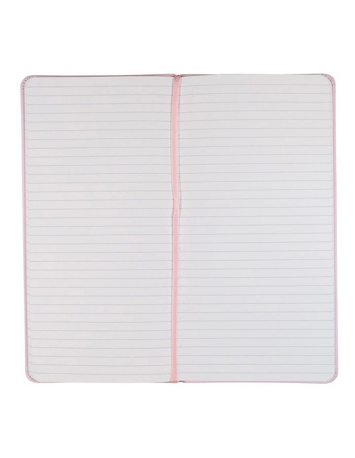 Paperchase Slim Pink Elizabeth Stanton Lined Notebook image 2