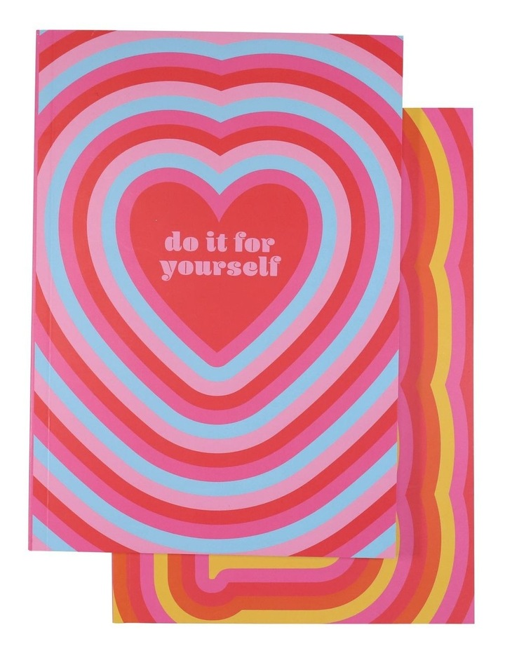 Paperchase A5 Love Notebooks - Set Of 2 image 1