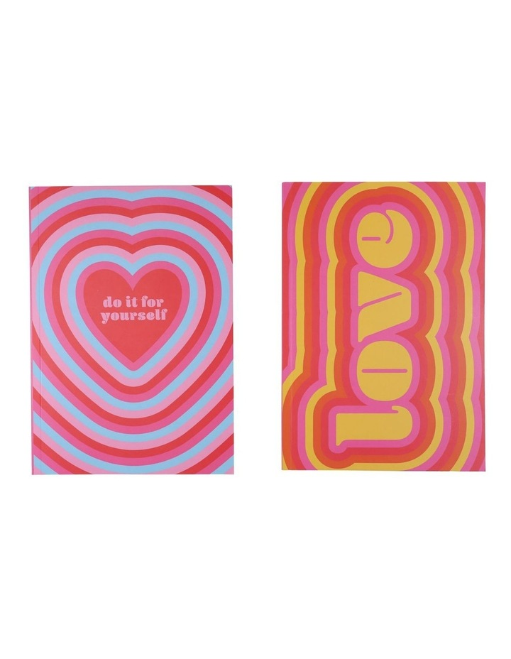 Paperchase A5 Love Notebooks - Set Of 2 image 2