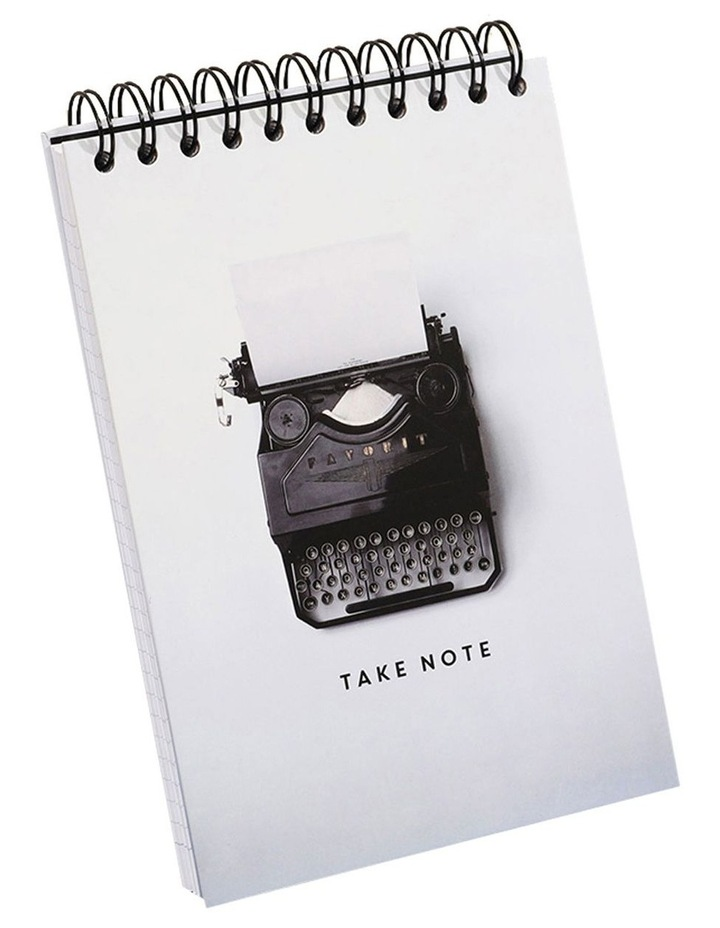 A5 Typewriter Reporter Style Lined Notebook image 1