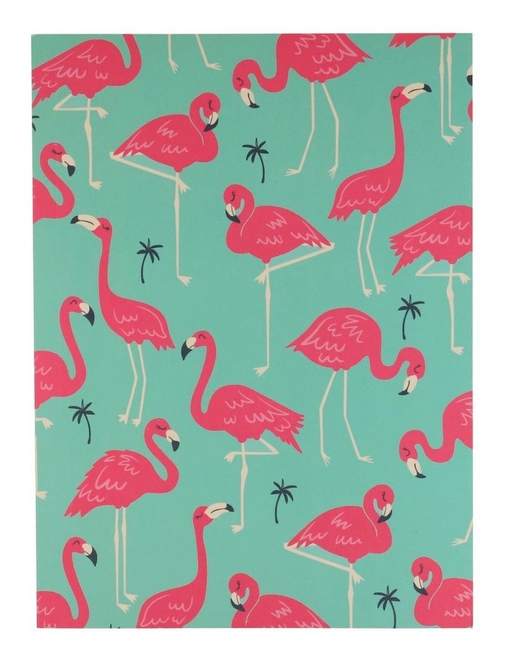 Paperchase A5 Flamingo Grid Notebook image 1