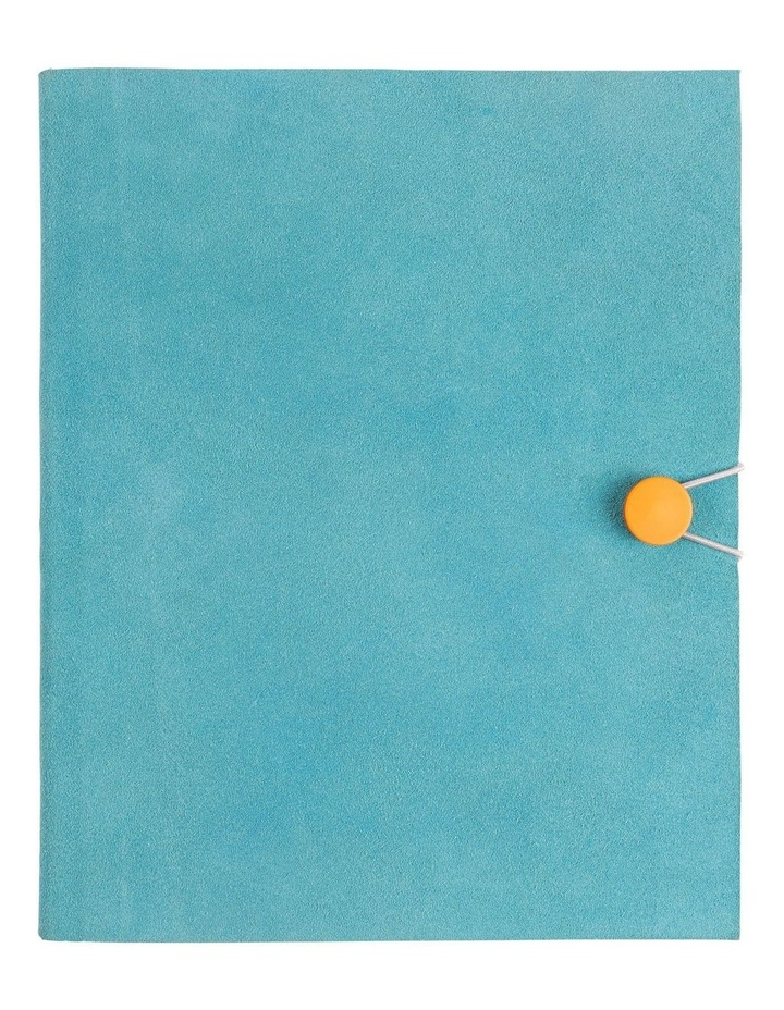 8X10 Teal Lined Notebook image 1