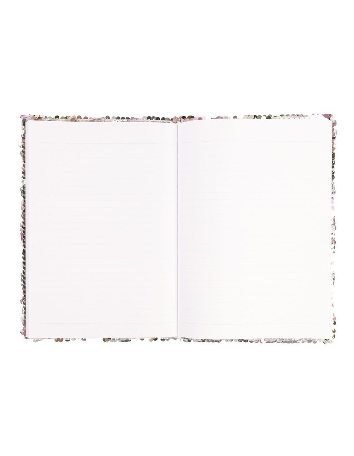 Paperchase A5 Pastel Sequin Lined Notebook image 2