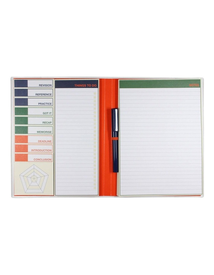 Paperchase Navy Revision Sticky Tab List Book image 2