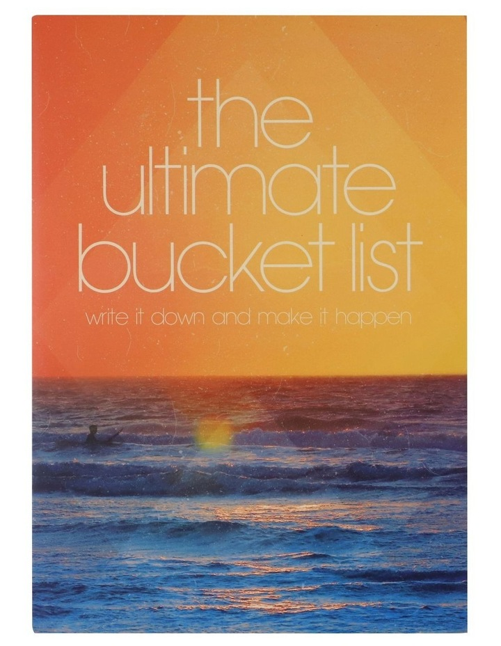 Paperchase The Ultimate Bucket List Journal image 1