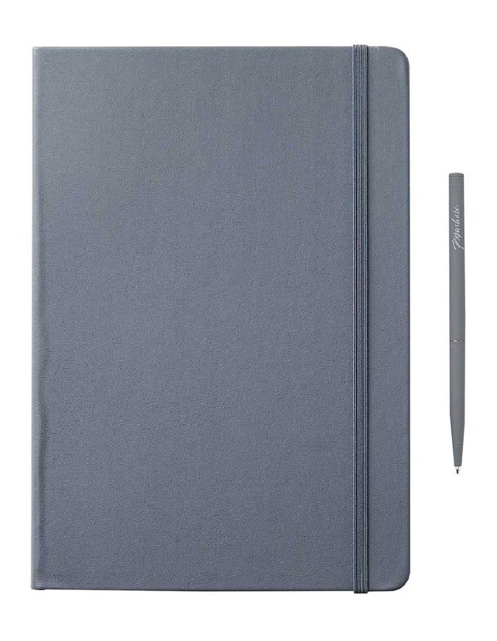 Notebook Hard L Agenzio Grey Dot image 1
