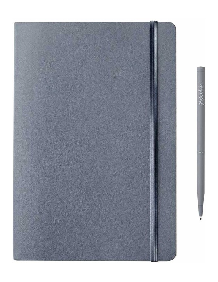 Soft Notebook M Agenzio Grey Dot image 1