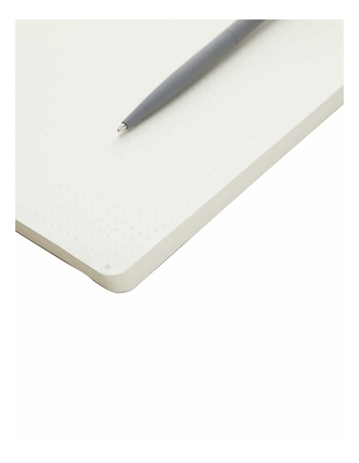 Soft Notebook M Agenzio Grey Dot image 2