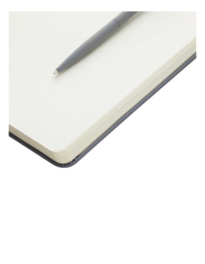 Hard Notebook M Agnezio Grey Plain image 2