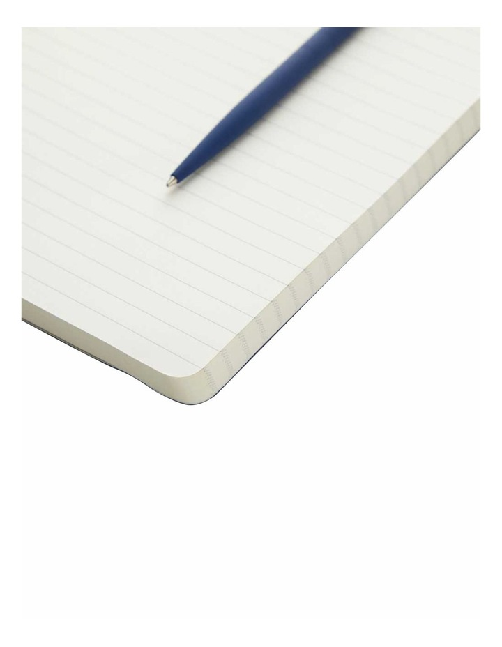 Ruled Soft Notebook Navy Agenzio image 2