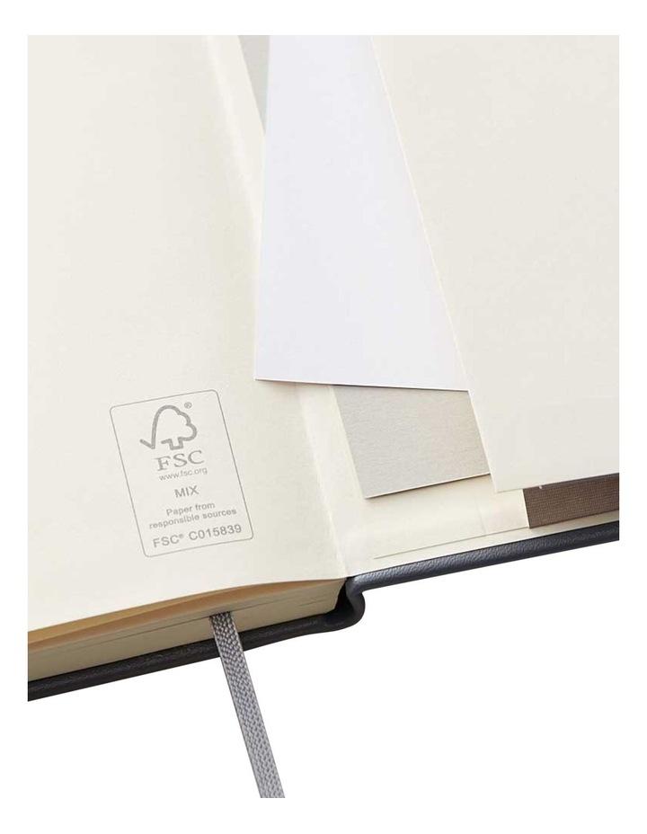 Hard Notebook Ruled S Agenzio Grey image 3