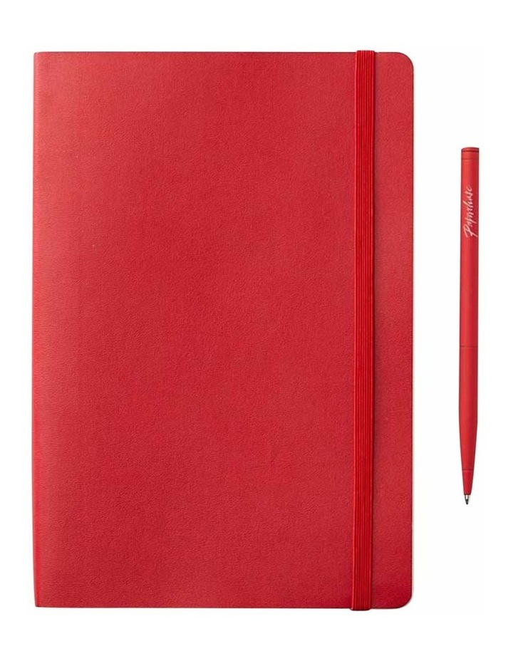 Soft Notebook Ruled M Agenzio Red image 1
