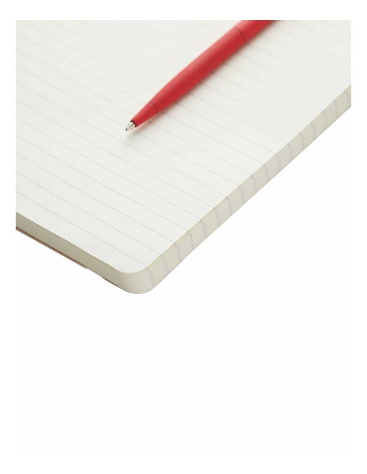 Soft Notebook Ruled M Agenzio Red image 2