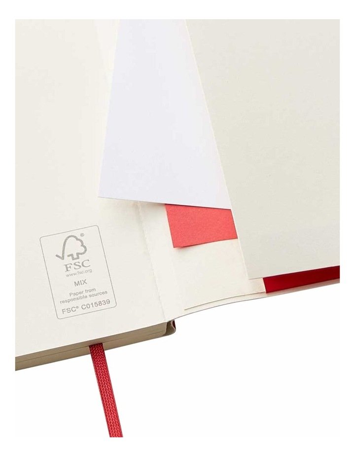 Soft Notebook Ruled M Agenzio Red image 3