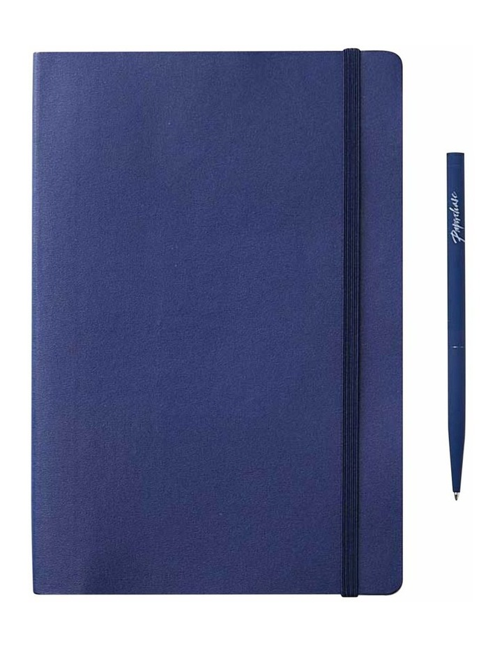 Soft Notebook Plain M Agenzio Grey image 1