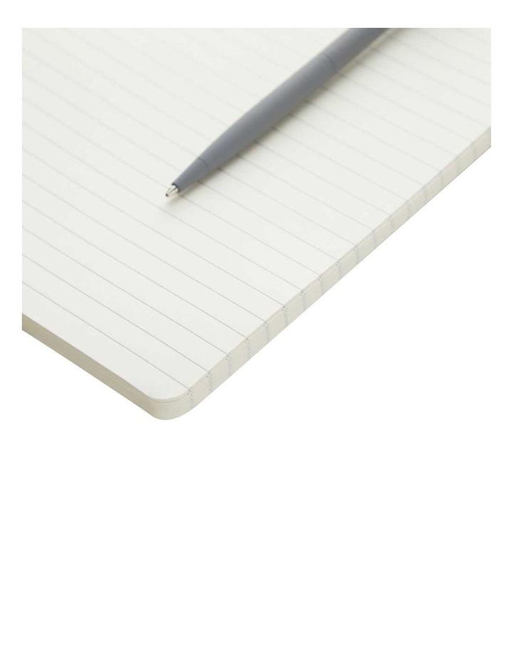 Soft Notebook Ruled M Agenzio Grey image 2