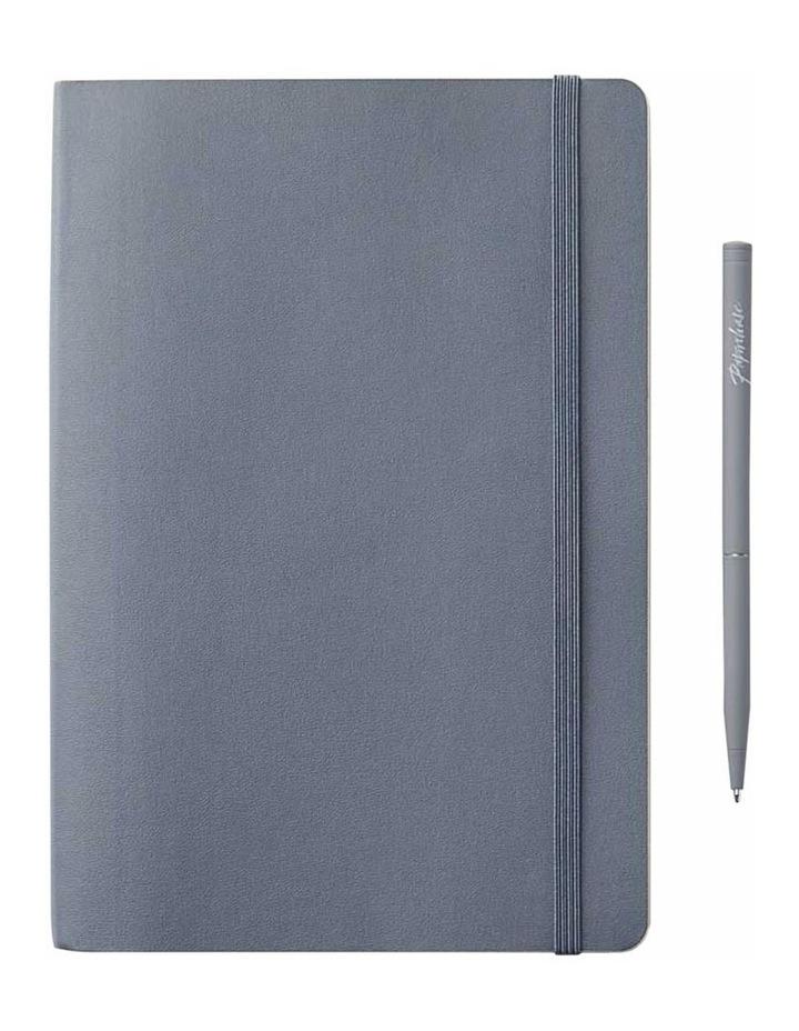 Soft Notebook Plain M Agenzio Grey image 1