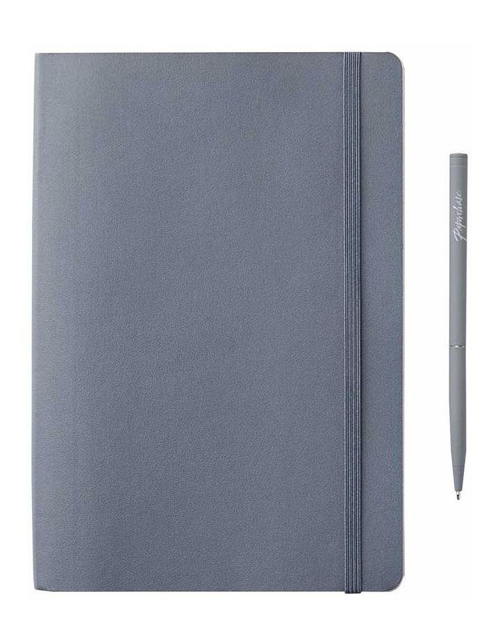 Agenzio Soft Notebook Grid M Grey image 1