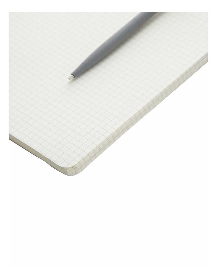 Agenzio Soft Notebook Grid M Grey image 2