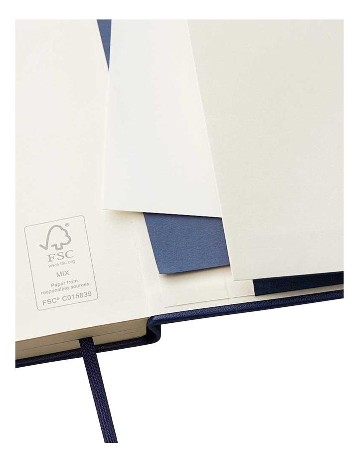 Hard Notebook Plain M Agenzio Navy image 3