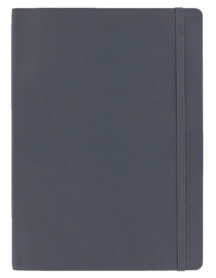 Agenzio Soft Notebook L Ruled Grey image 1