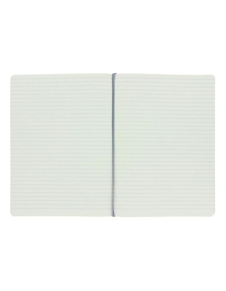 Agenzio Soft Notebook L Ruled Grey image 2