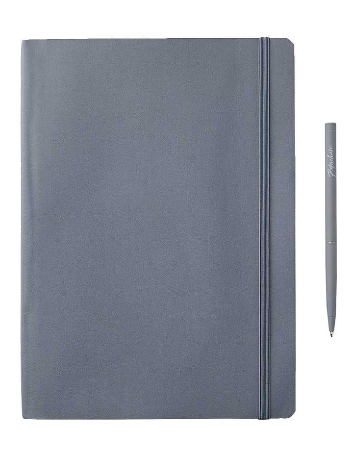 Soft Notebook L Grid Grey image 1