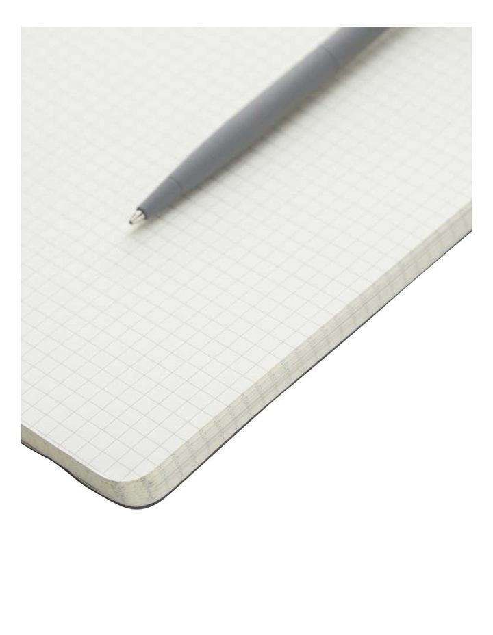 Soft Notebook L Grid Grey image 2